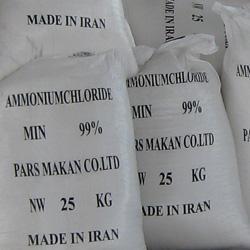 کلرید آمونیم ، نشادر با کیفیت 99% حداقل