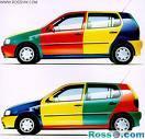 رنگ اتومبیل - رنگ صنعتی و رنگ ساختمانی