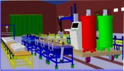 طراحی و ساخت دستگاه فوم و پلی اورتان
