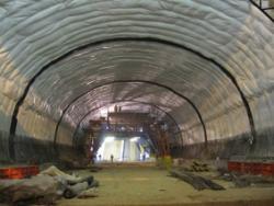 ژئوممبران PVC,LLDPE,VLDPE ـ عایق تونل
