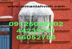 سرویس و شارژ گاز کولر گازی جهت گرمایش