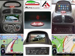 مانیتور فابریک خودرو + DVD + GPS