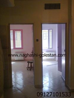 نقاشی ساختمان|نقاشی خانه|رنگ|نقاشی