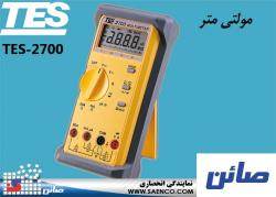 مولتی متر,آوومتر, ولت متر,مدل  TES-2700