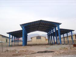 پوشش سقف شیبدار-اجرای پوشش سقف سوله و انواع سقف-آردواز
