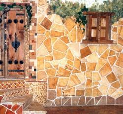 تولید و فروش انواع سنگهای آنتیک