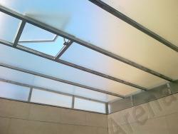 سقف پاسیو , سقف حیاط خلوت