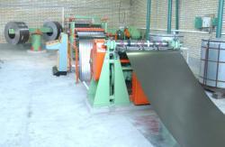 فروش دستگاه برش رول به رول ورق فلزی(طول بر)