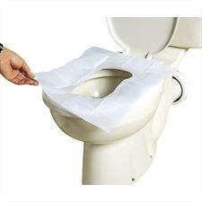 پوشش یکبار مصرف توالت فرنگی