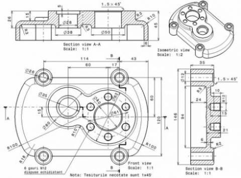 خدمات طراحی و نقشه کشی صنعتی در تبریز