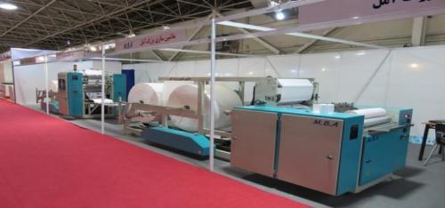 دستگاه تولید دستمال کاغذی صادرات عراق ماشین سازی آمل