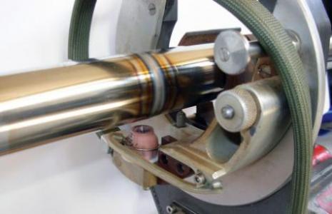 جوش اتوماتیک لوله Orbital welding