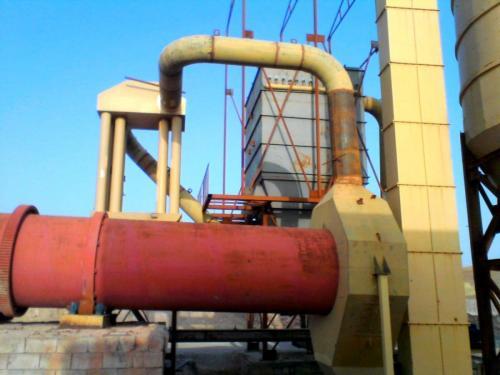 غبارگیر بگ خشک فیلتر آسفالت