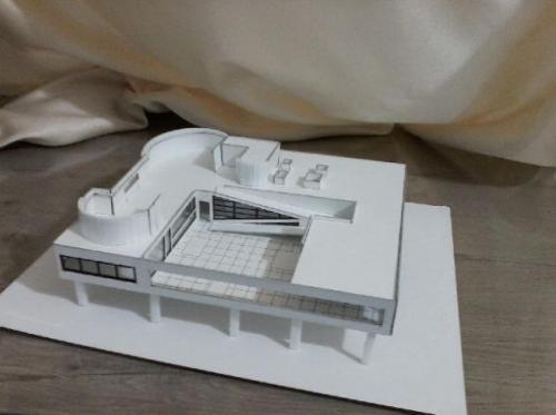 ساخت ماکت های دانشجویی معماری