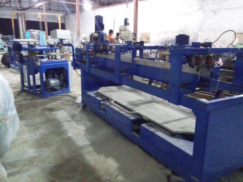 سازنده دستگاه تولید رابیتس ده برگ کشش  آمارد ماشین