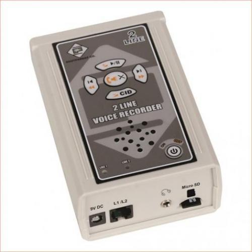 دستگاه ضبط مکالمات  دو خط