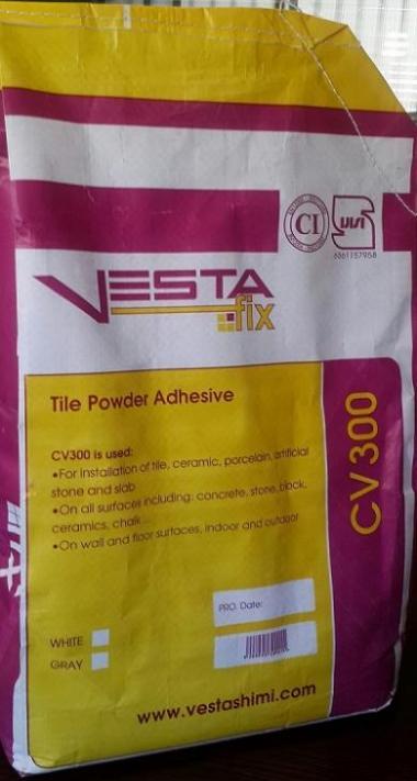 چسب استاندارد کاشی و سرامیک-وستا فیکس (وستا شیمی)