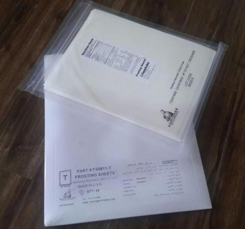واردات و پخش کاغذ کیک تصویری