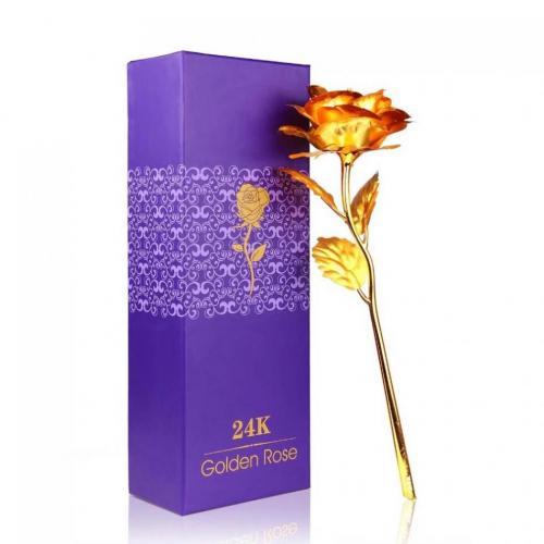 واردات شاخه گل رز طلا 24 عیار شناسنامه دار