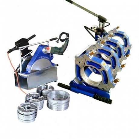 دستگاه جوش پلی اتیلن نیمه هیدرولیک 160 جینجر