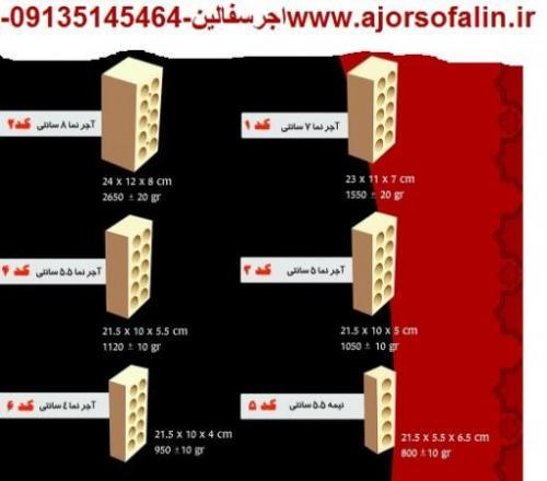 آجرسفال اصفهان،خرید آجرسفال،قیمت آجرسفال09135145464