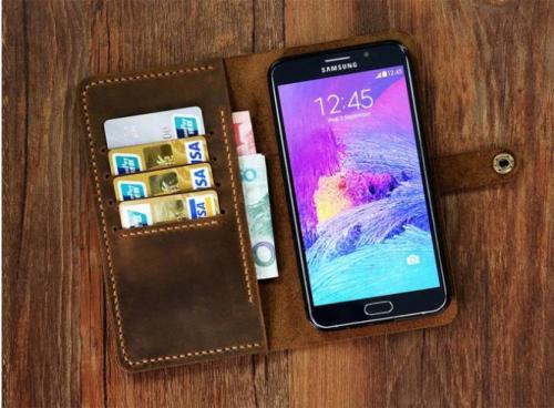 کیف چرم موبایل   LU95
