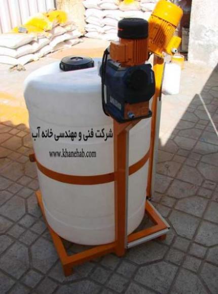 پکیج تزریق مواد شیمیایی - پکیج کلرزن مایع