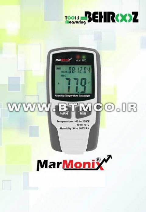 ترموگراف دما و رطوبت MARMONIX MHT-40