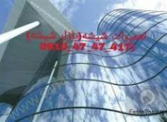 تعمیر شیشه سکوریت،نصب شیشه سکوریت میرال تهران09121576448