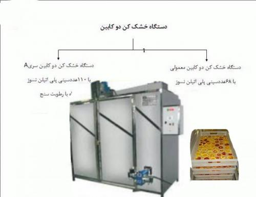 سازنده دستگاه خشک کن میوه وسبزیجات
