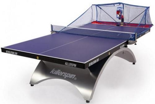 ربات پینگ پنگ توپ انداز تنیس روی میز