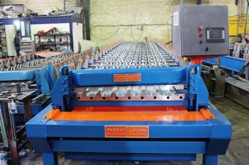 قیمت ساخت دستگاه عرشه فولادی - متال دک 09121612740