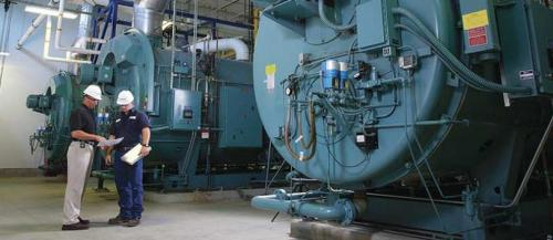 کلیه لوازم دیگ بخار فایرتیوپ و مشعل  - تعمیر دیگ بخار