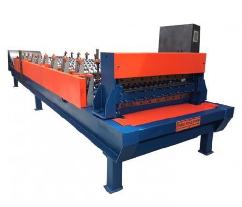 ساخت دستگاه رول فرمینگ دو طبقه سینوسی / ذوزنقه