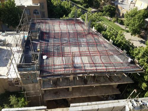 طراحی و اجرای سقف پیشنیده
