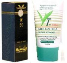 خرید بهترین کرم سفید کننده و روشن کننده چای سبز اصل
