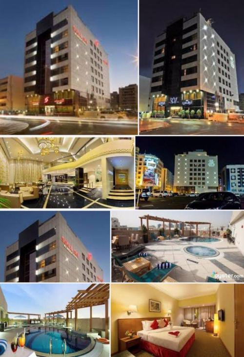 تور دبی هتل سان اند اسکای رقه ٤*