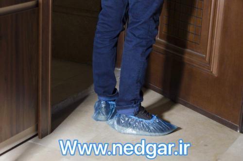 فروش کاور کفش یکبار مصرف