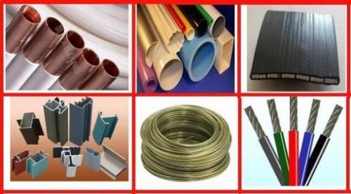 تولید انواع لوله و پروفیل های پلاستیکی