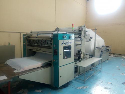 فروش ویژه دستگاه دستمال کاغذی mba