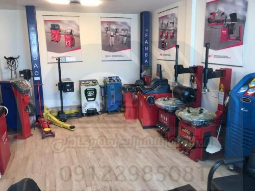 فروش ویژه بالانس چرخ و لاستیک درار سواری و سنگین
