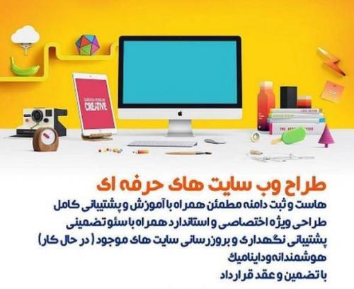 طراحی وب سایت حرفه ای