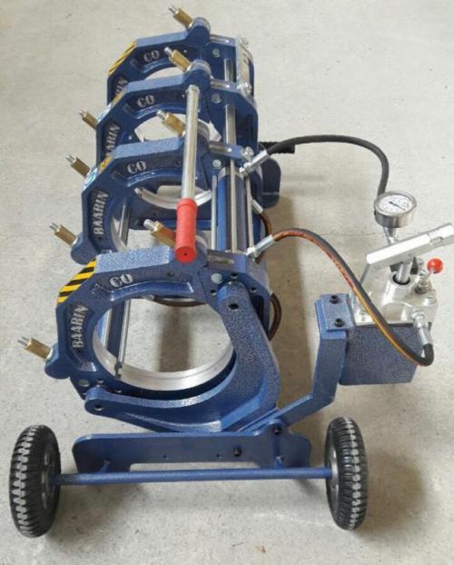 دستگاه جوش پلی اتیلن ۱۶۰ نیمه هیدرولیک بارینکو