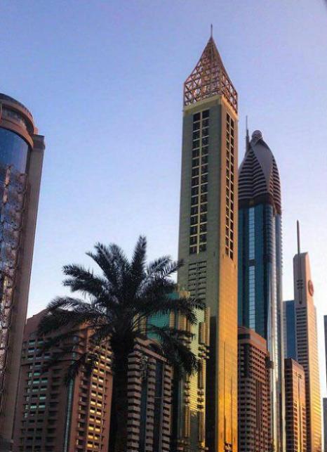 افتتاح هتل ٤* لوکس گِوُرا دبی - بلندترین هتل دنیا