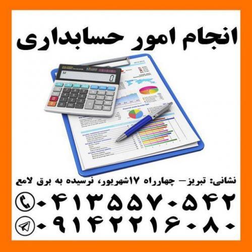 انجام کلیه امور مالی، حسابداری، مالیاتی و اظهارنامه در