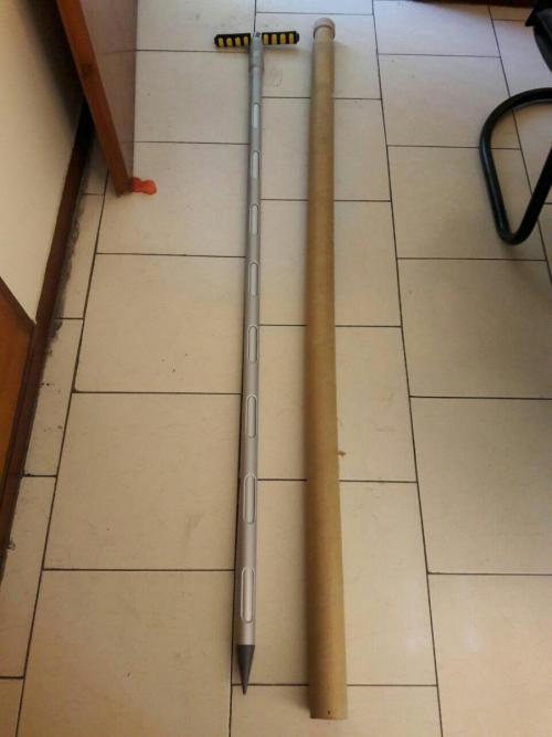 بمبو برای مواد گرانولی - بمبو نیزه ای