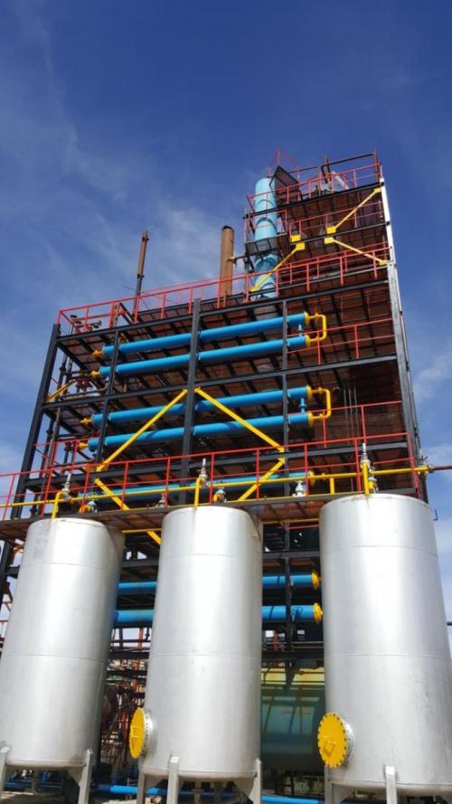 فروش کارخانه تولید و برش هیدروکربنهای صنعتی (پالایشگاه