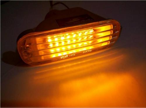 چراغ LED داخل سپر پراید 131