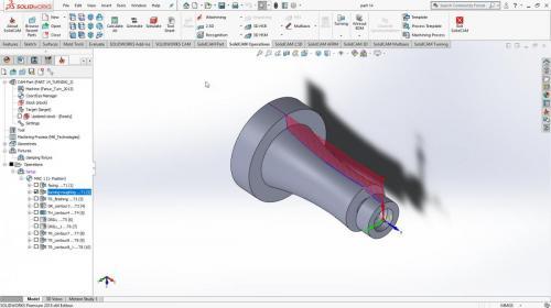 آموزش ماشینکاری CNC در solidCAM
