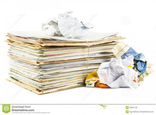 بهترین خریدار انواع کاغذ باطله کم و زیاد در محل